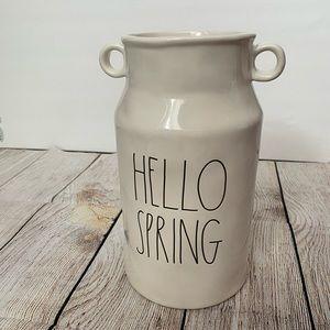 NWT Rae Dunn Hello Spring base
